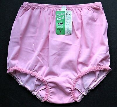 Pink Vintage Panties~CAMCO NWT~Double Nylon Gusset~6