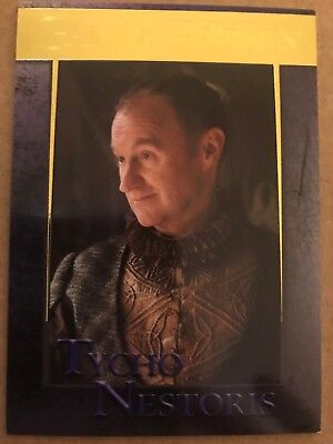 Game Of Thrones - Season 7: Gold Parallel Base Card: Card 59 - Tycho Nestoris
