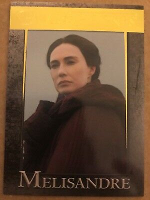 Game Of Thrones - Season 7: Gold Parallel Base Card: Card 31 - Melisandre