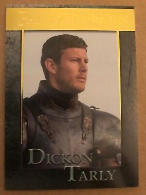 Game Of Thrones - Season 7: Gold Parallel Base Card: Card 66 - Dickon Tarly