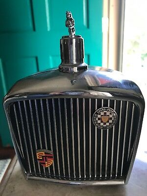 Vintage JAGUAR Music Box 1968 Royal London LTD DECANTER/FLASK Plays great!