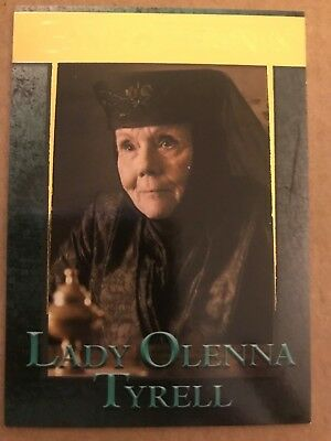 Game Of Thrones - Season 7: Gold Parallel Base Card: Card 52 - Lady Olenna