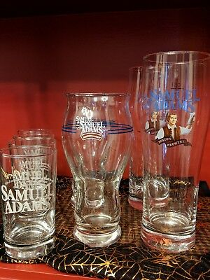 Sam Adams Testers-4, Sensory-2, Pilsner-2. 10 Years Old. Never Used. Mint Cond.