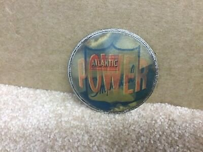 ATLANTIC IMPERIAL POWER GASOLINE HOLOGRAM BUTTON HIT With ATLANTIC game