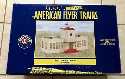 American Flyer New 6-49839 Union Station #793 Box Never Opened. O Gauge Also