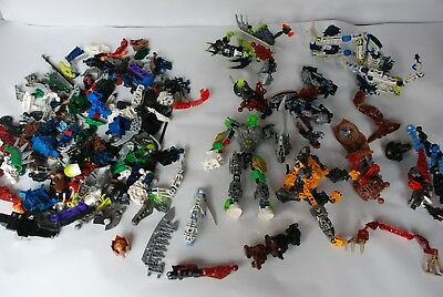 Lego Bionicle Bulk Mixed Lot 1.5KG