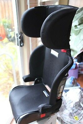 Infasecure folding booster seat CS6013 series - black, in very good condition
