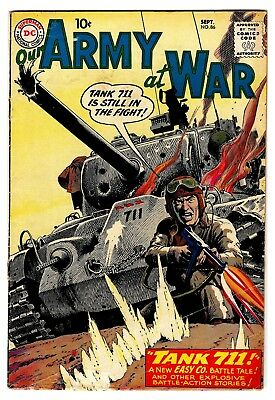Our Army at War 1959 NO RESERVE SILVER AGE