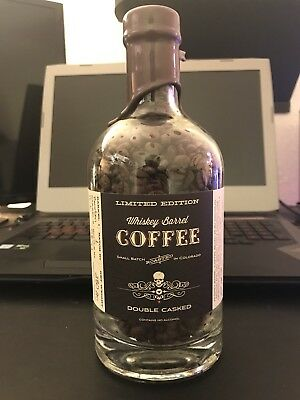Limited Edition Whiskey Barrel Coffee