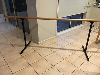 Ballet Barre 95 inches long, adjustable height.