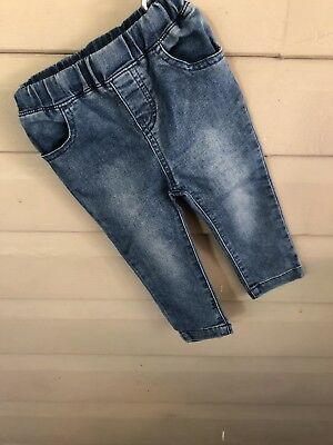 JACK and MILLY - unisex Size 0 toddler jeans