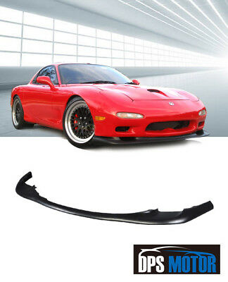 OER Urethane Front Bumper Lip Spoiler Body Kits For 93 97 Mazda RX7 RX