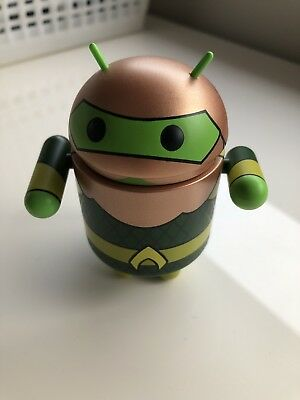 Google Android Aquaman justice league Limited Edition Mini Collectable