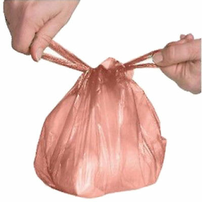 Disposable Baby Nappy Bags Fragranced Nappy Sacks Hygienic Sack Tie Handle New