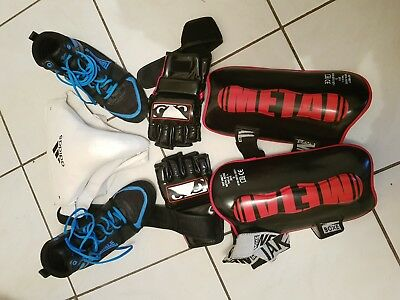 pack boxe krav maga free fight mma no fear lonsdale savate