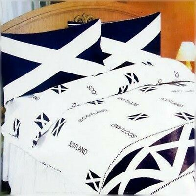 The Scotland Standard Quality Polly Cotton  Single Duvet  Quilt Cover