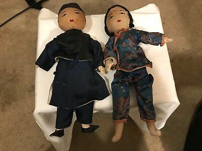 Antique Chinese Dolls