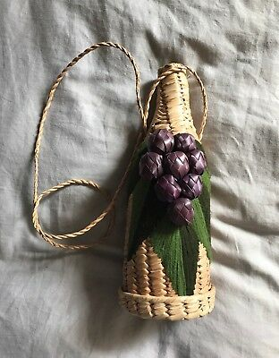 Vintage Boho Wine Carrier
