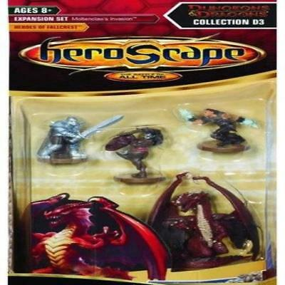 Heroscape Expansion Wave 13 Heroes Of Fallcrest Toy Play Wizards Of The Coast Ne