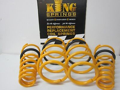 Superlow Lowered Front & Rear KING Springs to suit Commodore VE V6 Sedan Models