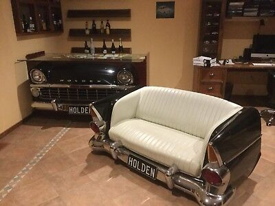 Holden EK Mancave Bar/Shop Counter and Holden EK Car couch.