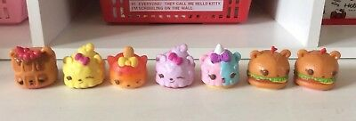 Lot of 7 Num Noms Mystery Pack Series - Includes lipgloss or stamp