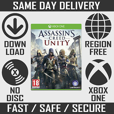 Assassins Creed Unity Xbox One - Full Digital Game Download [INSTANT DISPATCH]