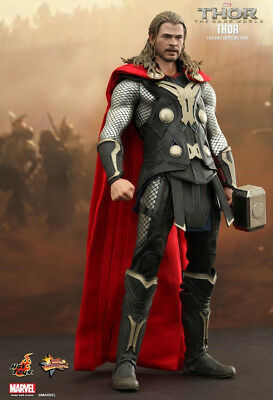 Thor 2 - Thor 1:6 Scale Figure MMS224 Hot Toys Marvel - NEW