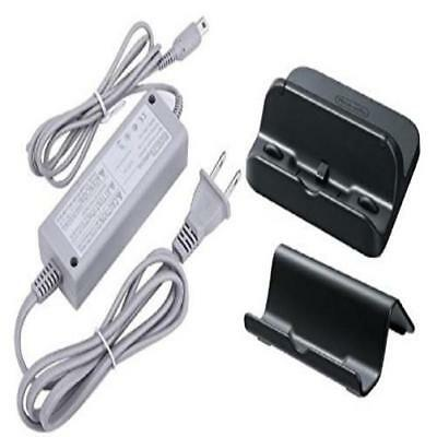Awchip Power Ac Charger Adapter For Nintendo Wii U Gamepad With Black Cradle New