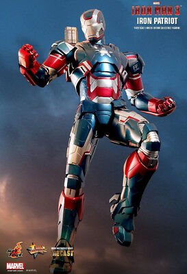 Iron Man 3 - IRON PATROIT Diecast 1:6 Scale Figure MMS195-D01 Hot Toys NEW