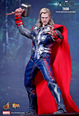 Avengers - THOR 1:6 Scale Figure MMS175 Hot Toys Marvel - NEW
