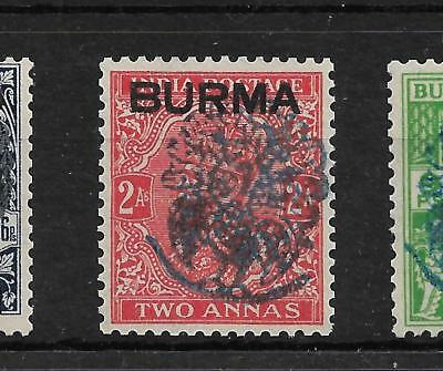 1942,burma,japanese Occupation,sgj24 Kgvi,m 2 A,not India,peacock,commonwealth