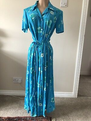 Late 70s Early 80s Day Dress Vintage.