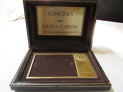Longines Ultra Chron Box - The World most Honored Watch