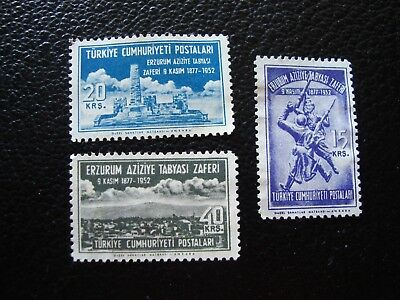 TURKEY - stamp yvert and tellier n° 1170 1171 1172 new without gum (BE)