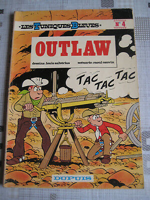 """Tuniques bleues n°4 """"Outlaw"""" EO 1973"""