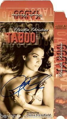 Babylon 5 - Claudia Christian Signed - Unrated - Very Very Rare Red Tape