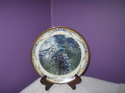 Lennox - Collector Plate - Shades of the Seasons - Springtime Blues - 1st Issue