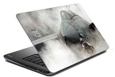 "Jet In Fogg Laptop Skin Sticker Protector Art Cover Decal Fit 14.1"" - 15.6"""
