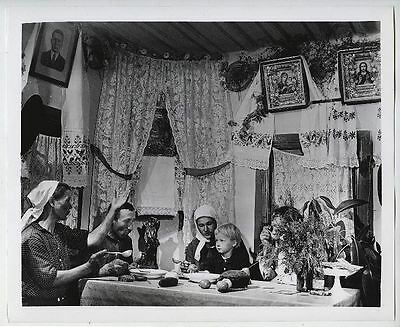 """ROBERT CAPA. """"Collective Farm Family, Ukraine"""" W/. The Book """"The familly of Man"""""""
