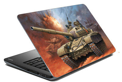 "Go to War Laptop Skin Sticker Protector Art Cover Decal Fit 14.1"" - 15.6"""