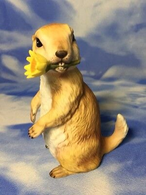 "Adorable Vintage Roger Brown ""Chester"" Endangered Baby Prairie Dog Figurine EVC"