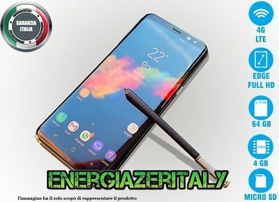 """goophone note 8i edge 6,3"""" octacore Android 7 13MPX 4GB RAM 64GB ROM 4G GPS"""