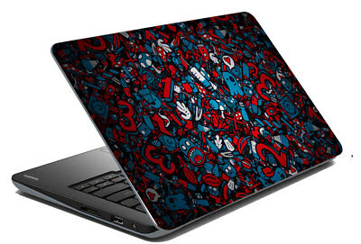 "Multi Laptop Skin Notebook Sticker Protector Art Cover Decal Fit 14.1"" x 15.6"""