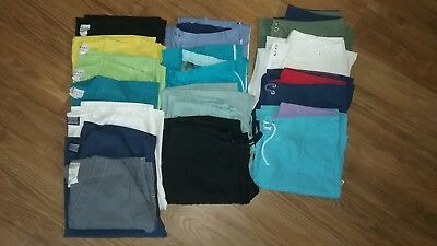 Womens Pre-owned XS Lot of 8 Scrubs Pants and 7 Tops