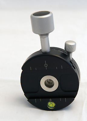 Really Right Stuff PC-PRO: ROUND SCREW-KNOB PANNING CLAMP Excellent Condition