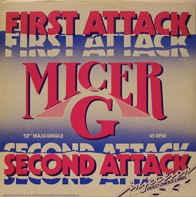 """12"""" Oldschool Electro - Micer-G - First Attack (Injection 1985) VOCODER!"""