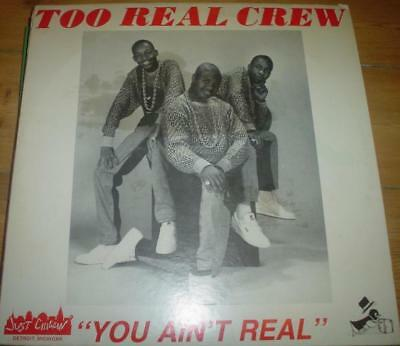 """12"""" Oldschool Electro - Too Real Crew - You Ain't Real (Just Chillin' 1986) PC"""