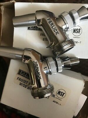 2 Perlick 425ss Beer Faucets New O Rings