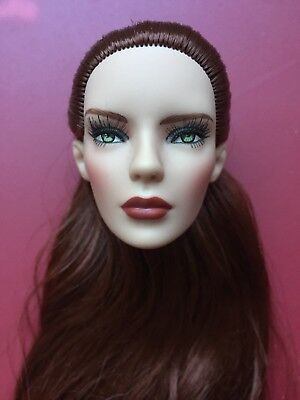 """Tonner TYLER 16"""" MARLEY WENTWORTH Doll HEAD For TONNER CHIC BODY DOLL HEAD ONLY"""